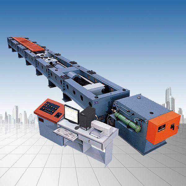 钢丝绳压制索具卧式拉伸载荷强度试验机